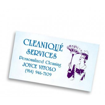 Magnets Business Card White